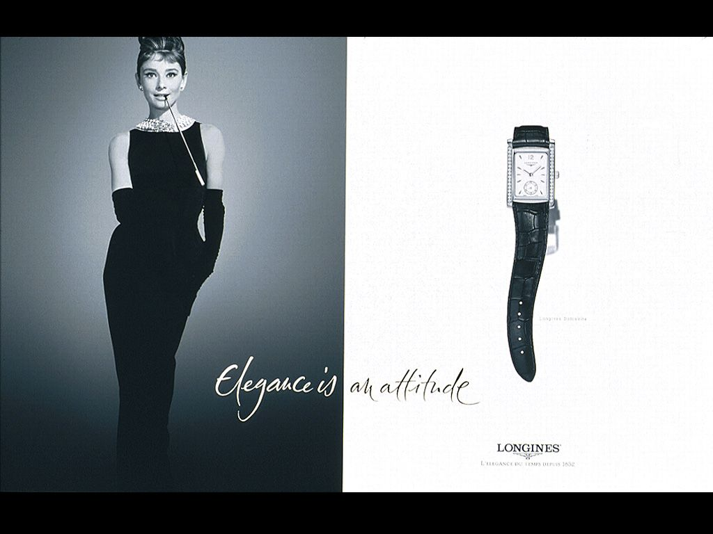 Audrey Hepburn Longines... was she really wearing one? | On Their ...