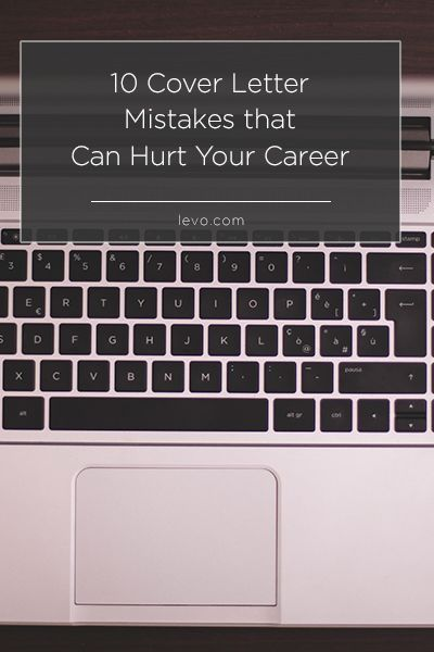Common Cover Letter Mistakes That Can Hurt Your Career  Resume