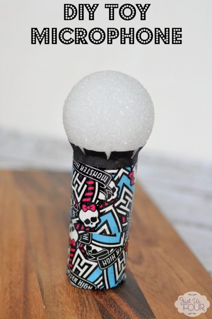 A Fun And Cute Diy Toy Microphone That Costs Less Than 5 To Make