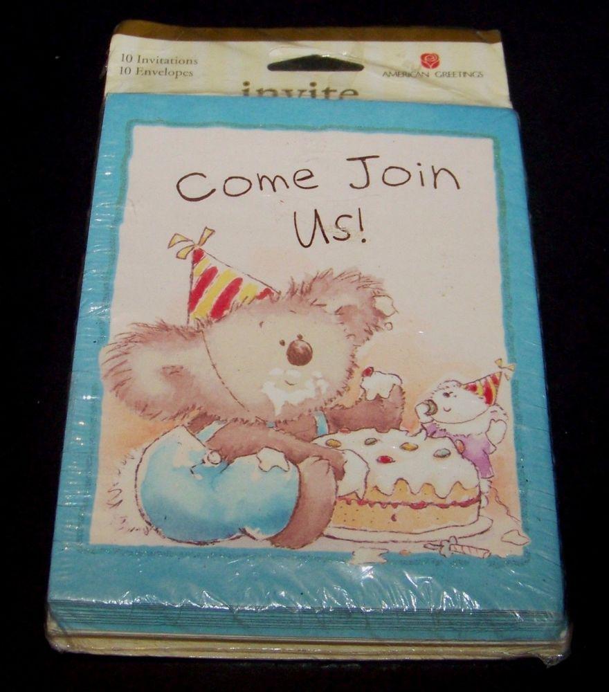 Koala bear birthday party invitations 10 count glittery american koala bear birthday party invitations 10 count glittery american greetings americangreetings birthdaychild m4hsunfo
