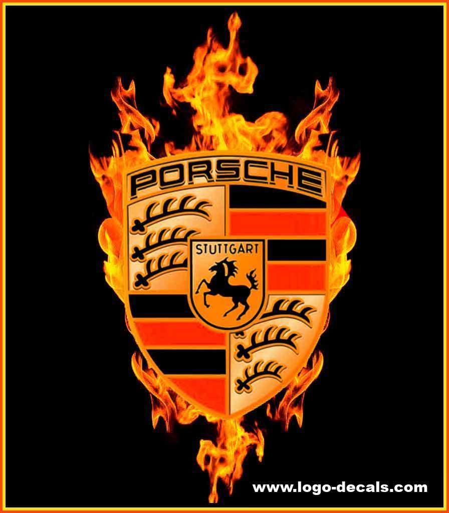 Porsche Decals - Porsche Emblem