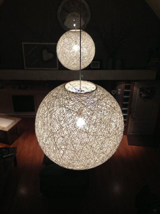 bol.com Willemse verlichting Abaca - Hanglamp - Wit | lampen | Pinterest