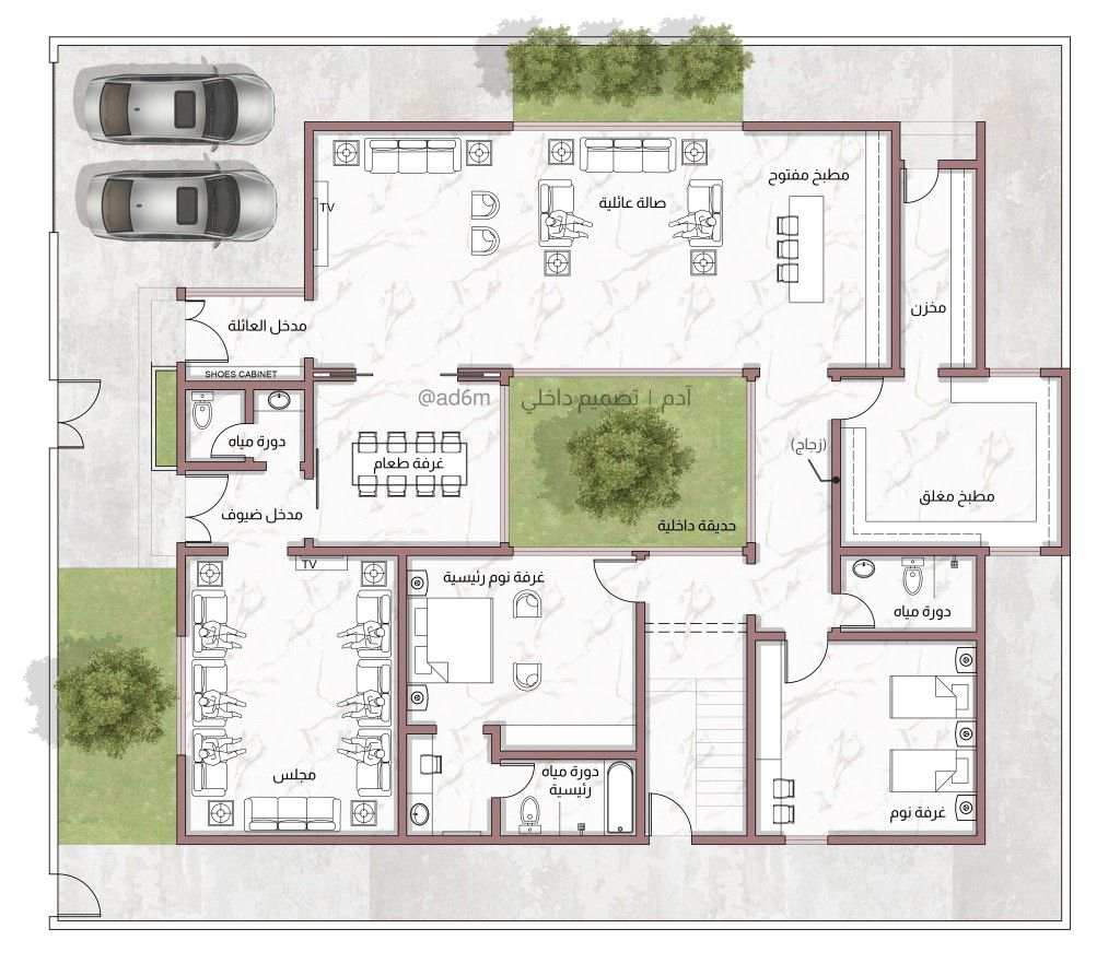 Pin By Faris Nofal On Plan Model House Plan Square House Plans House Layout Plans