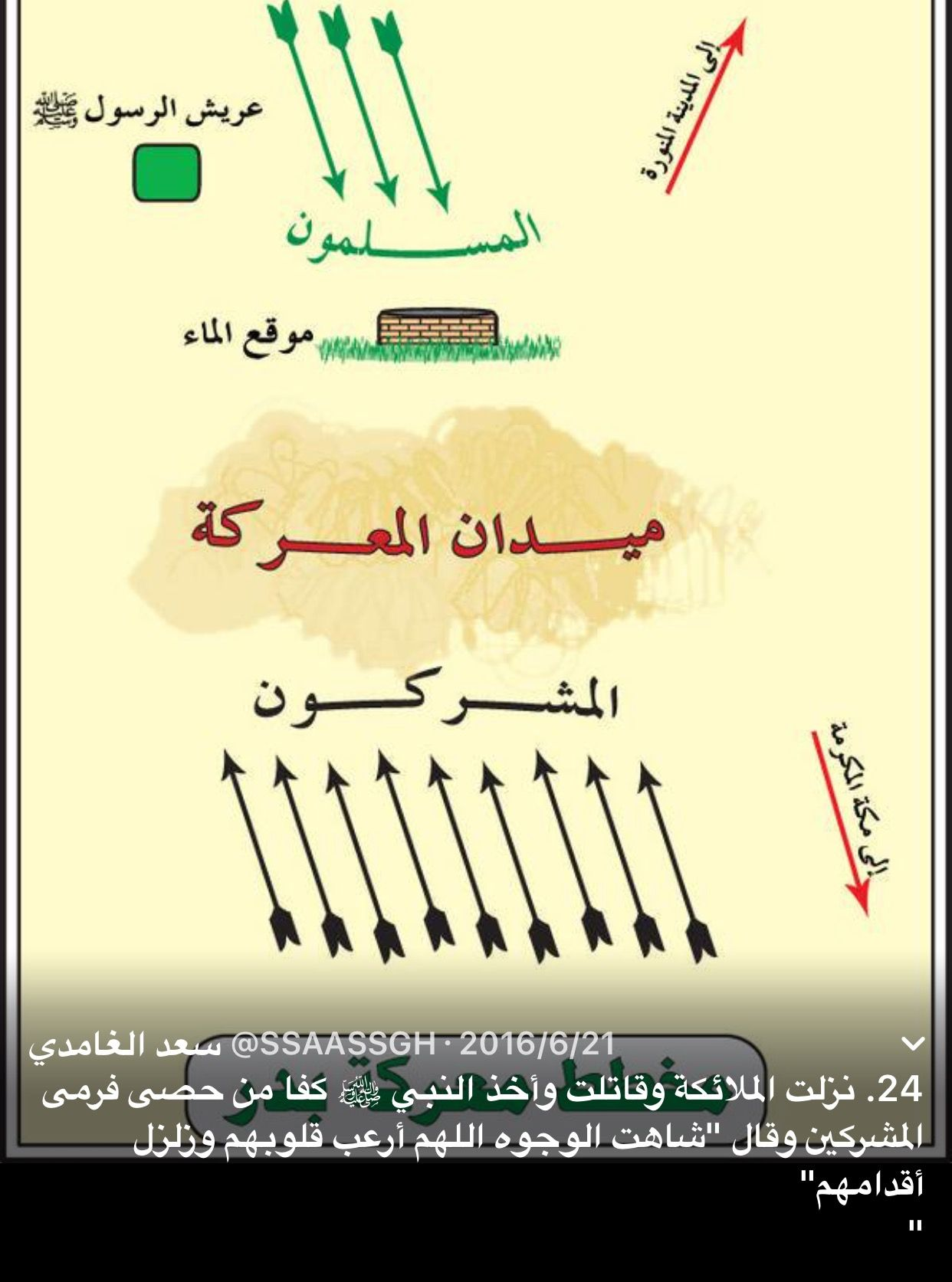 غزوة بدر Islamic Information Holy Quran Islam