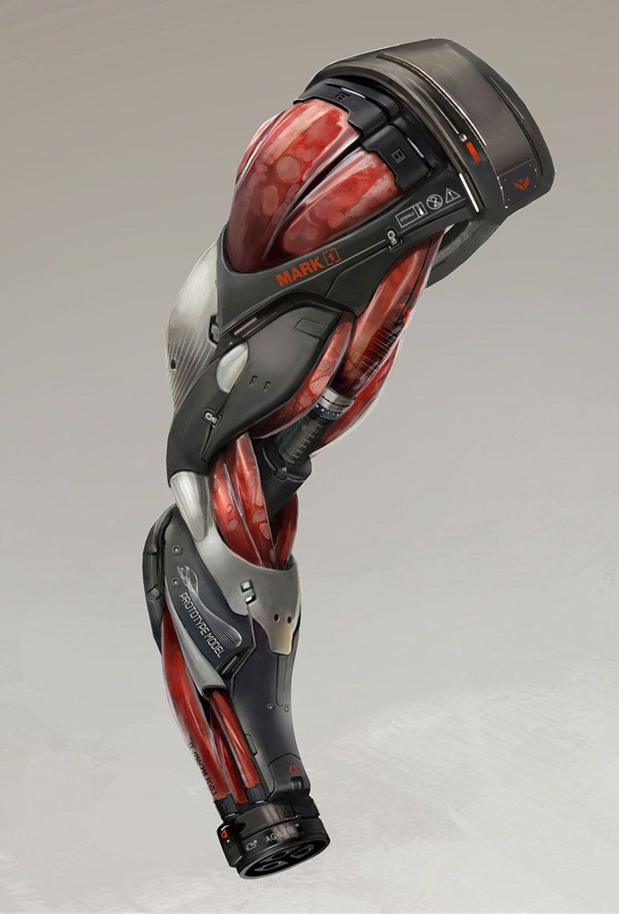 Marchenko S Augmented Arm Concept Art From Deus Ex Mankind