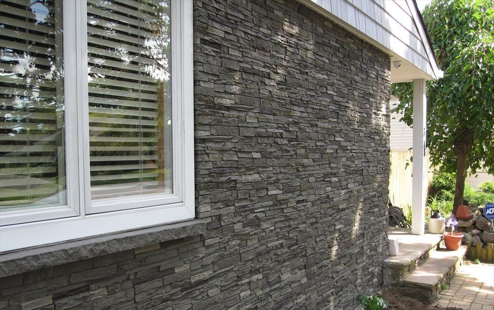 Builddirect 174 Stoneworks Faux Stone Siding Slate Stone