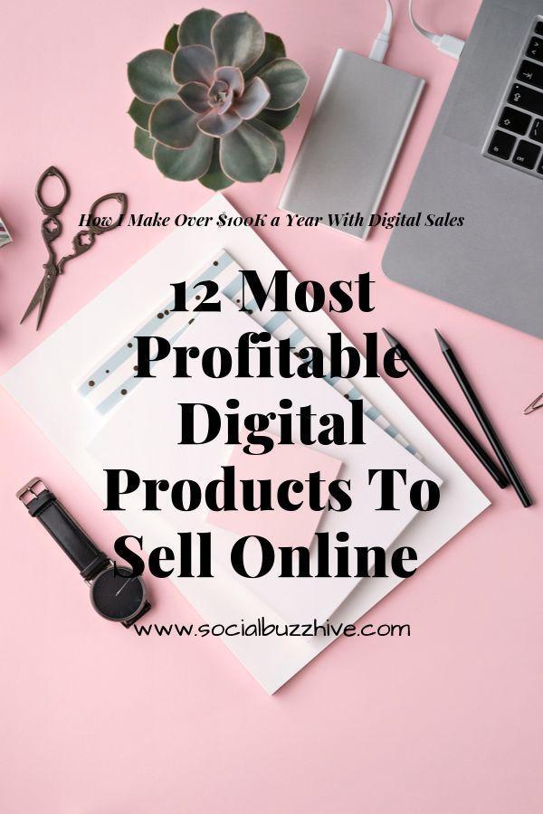 12 Die profitabelsten digitalen Produkte zum Online-Verkauf   – Marketing Strategies: #GIRLBOSS Business Tips