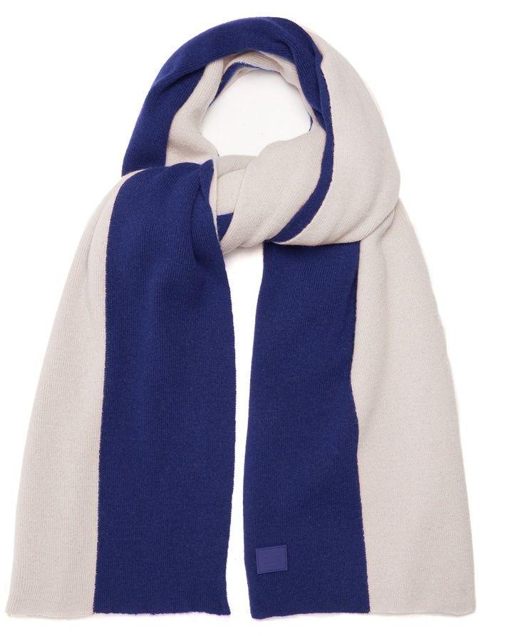 Acne Studios Nabil colour-block wool scarf  7643e3b02cca7