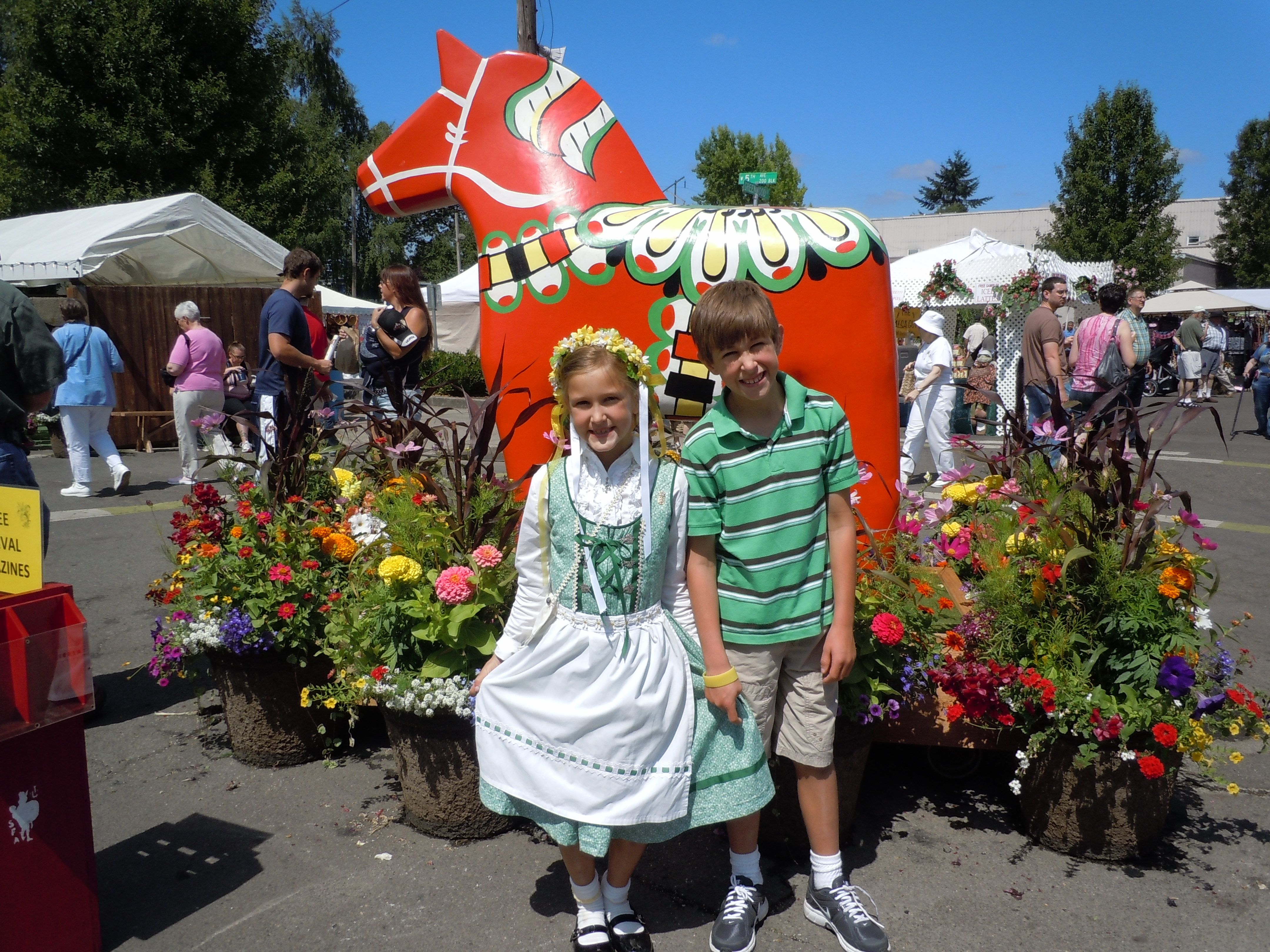 Every Summer The Scandinavian Festival Fills Junction City Or Streets With Music Culture Costumes And Delicacie Scandinavian Festival Junction City Oregon