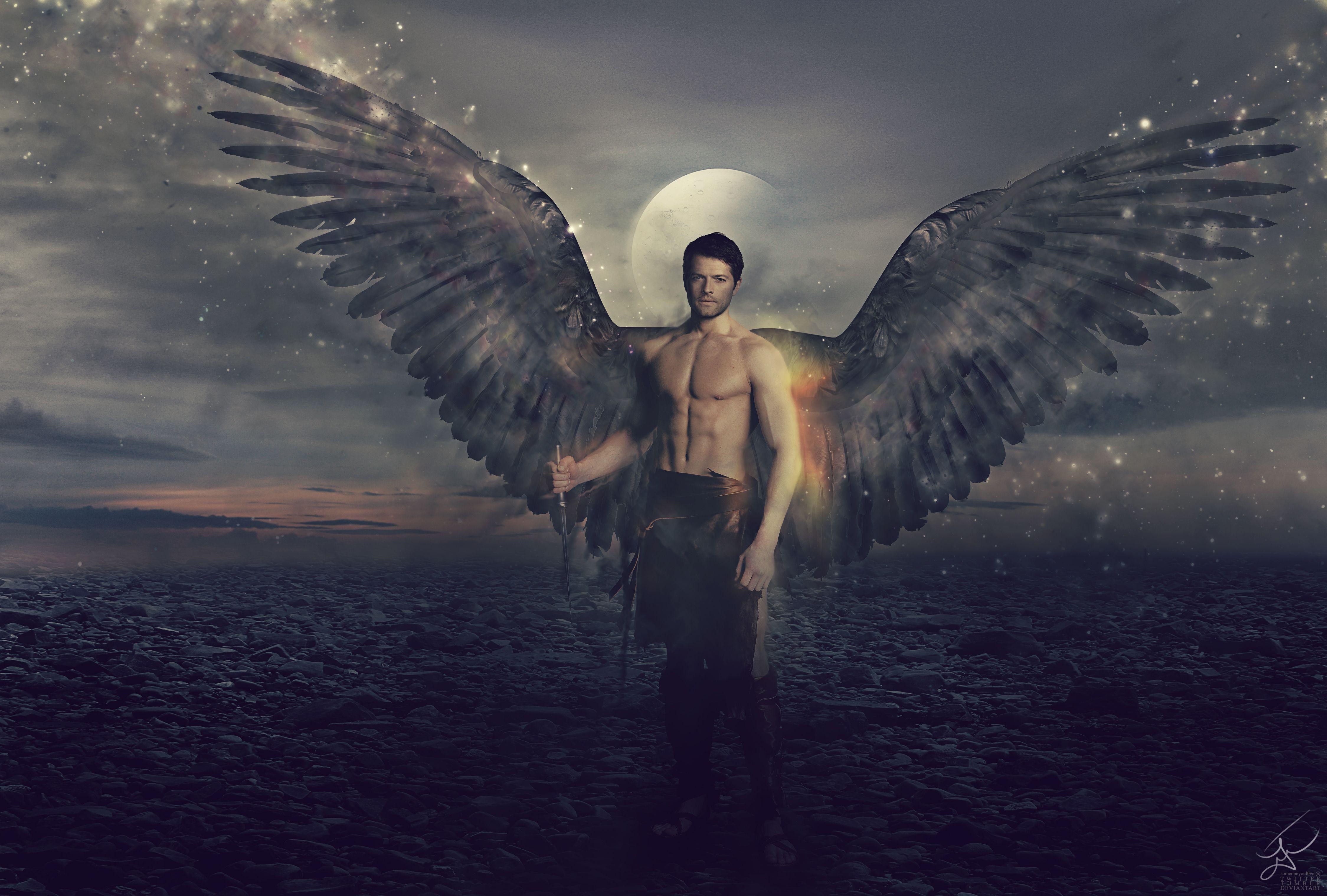 большие картинки ангелы мужчины диванную зону