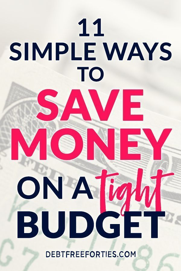 11 simple ways to save money on a tight budget budgeting for beginners pinterest budgeting. Black Bedroom Furniture Sets. Home Design Ideas