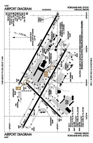 Filepdx Airport Diagrampdf Air Maps Pinterest International