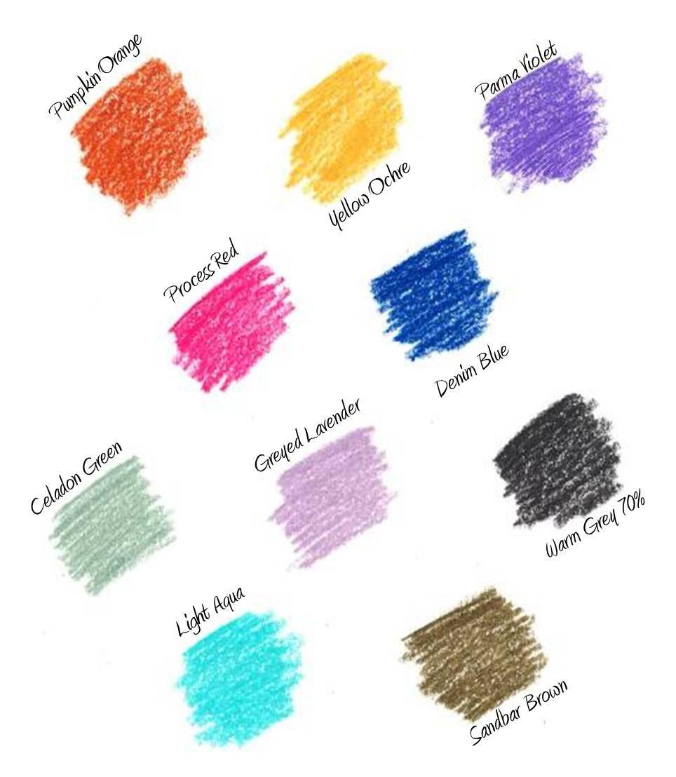 Fashion Color Names