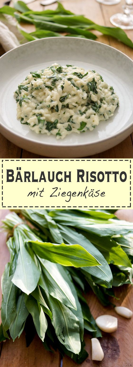 b rlauch risotto mit ziegenk se rezept rezept lecker pinterest risotto lauch und spargel. Black Bedroom Furniture Sets. Home Design Ideas
