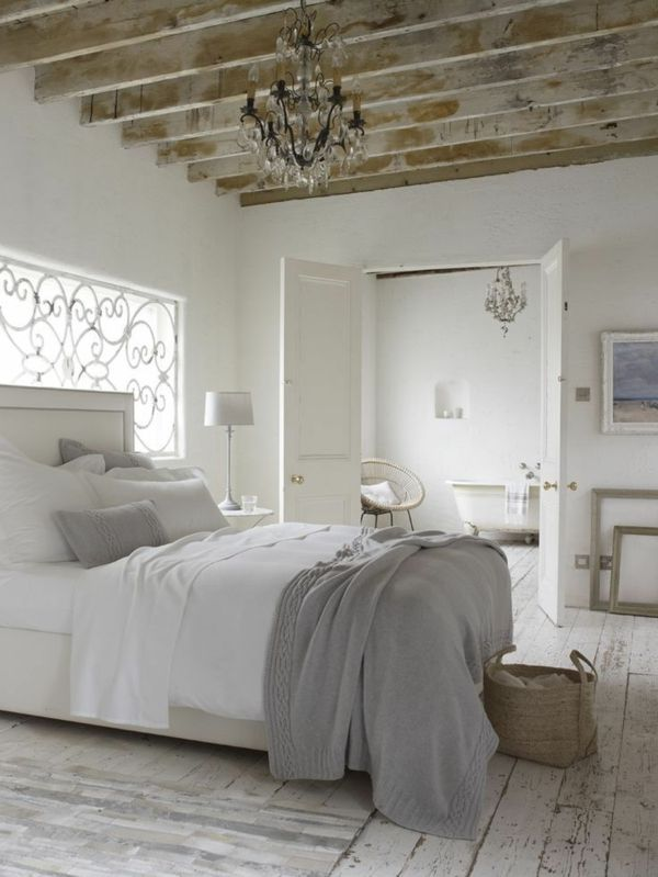 wandfarbe-hellgrau-super-schlafzimmer Grey Bedroom Inspirations