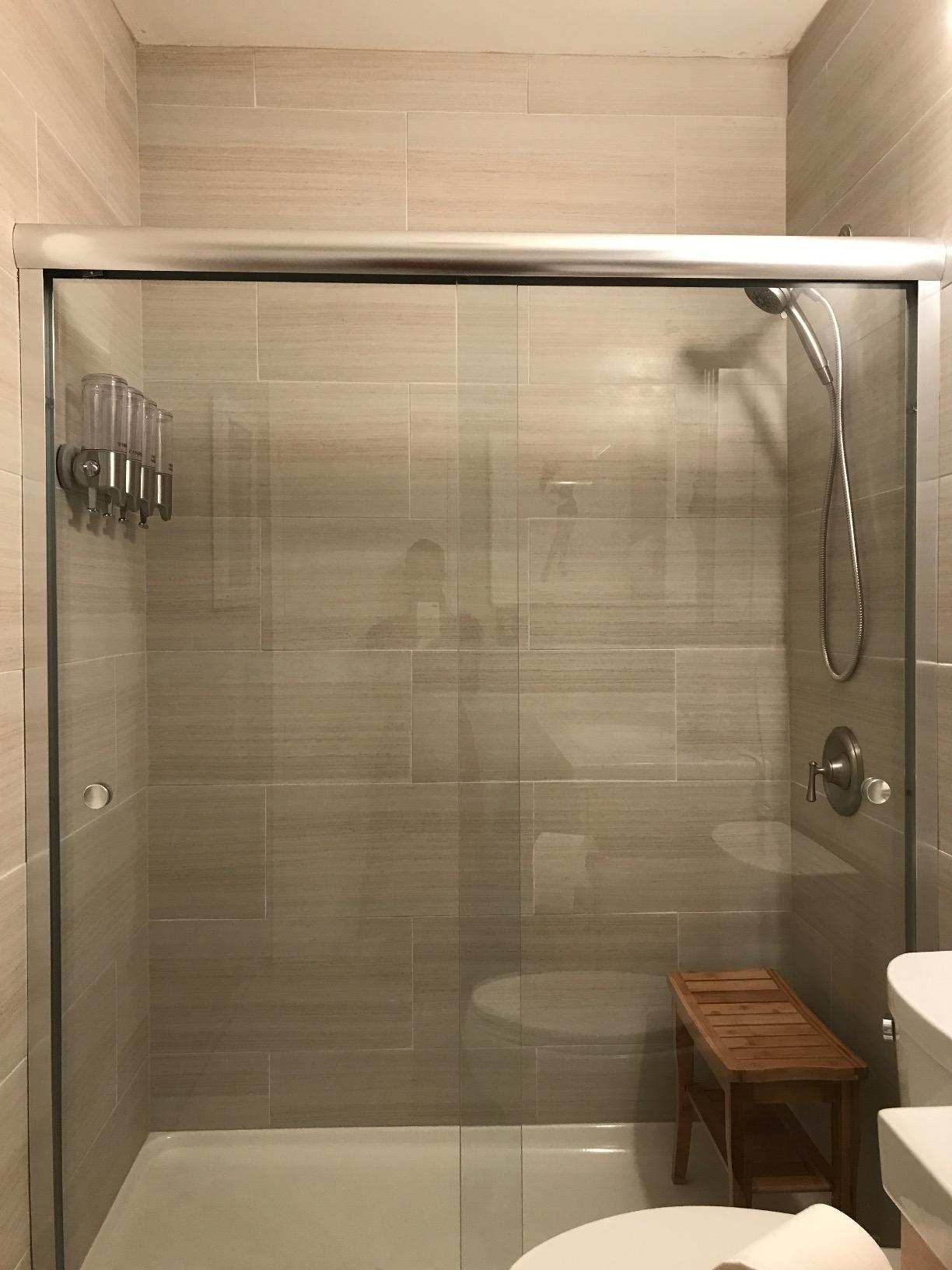 Amazonsmile Simplehuman Triple Wall Mount Shower Pump 3 X 15 Fl