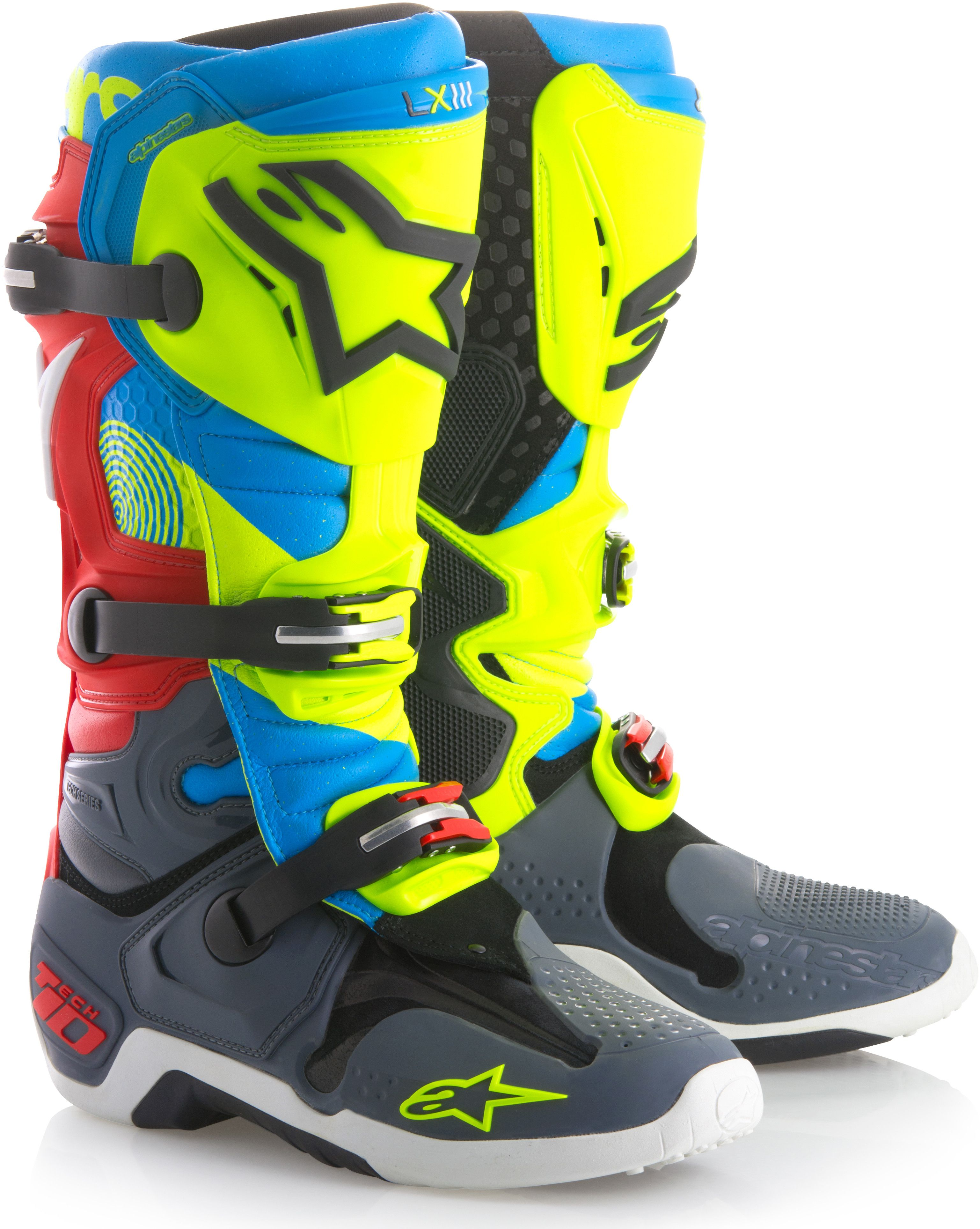 The Benchmark Boot In Motocross The Tech 10 Further Advances The