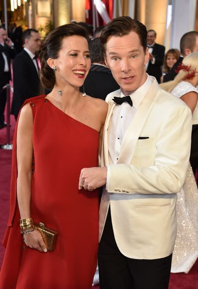 9 loving pictures which show Benedict Cumberbatch and Sophie Hunter are enjoying newly wedded bliss - 3am & Mirror Online