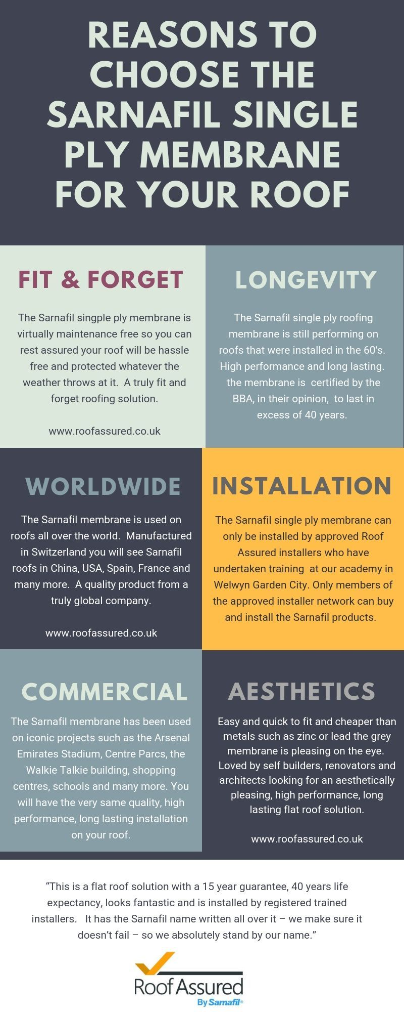 Reasons To Choose The Sarnafil Single Ply Membrane For Your Flat Roof Single Ply Roofing Membrane Flat Roof
