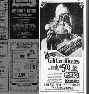 Wendy's Gift Certificates- 1977 | Festive Fast Food Fun ...
