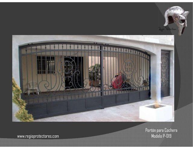 Regio protectores cat logo de portones residenciales for Ver modelos de portones de hierro