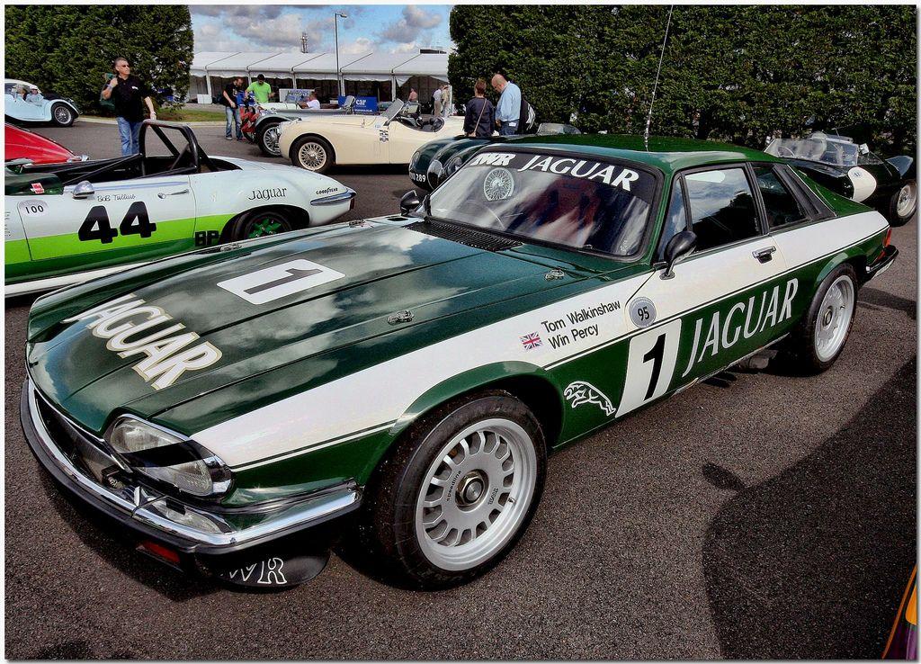 1984 TWR Jaguar XJS V12 European Touring Car.Silverstone Classic ...
