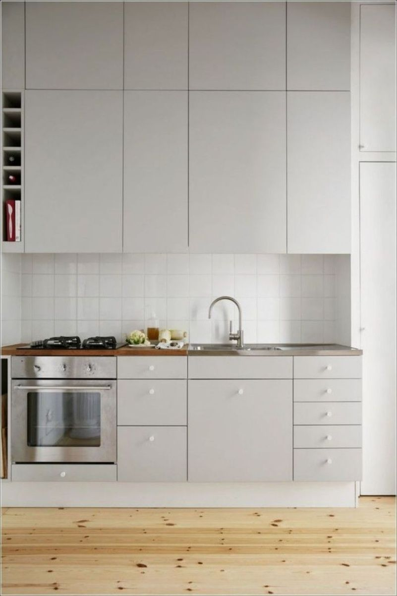 45 Cool Scandinavian Kitchen Design Ideas Cuisine Gris Cuisine