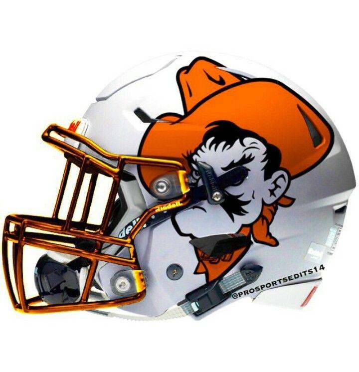 Oklahoma State Cowboys Football Helmets Oklahoma State Football College Football Helmets