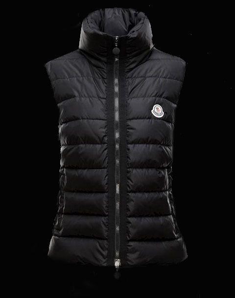 premium selection 0cc11 ce999 893CHF Moncler Frauen Westen Anserine Schwarz | Clothes ...