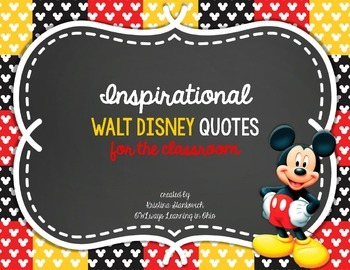 Inspirational Walt Disney Quotes For The Classroom
