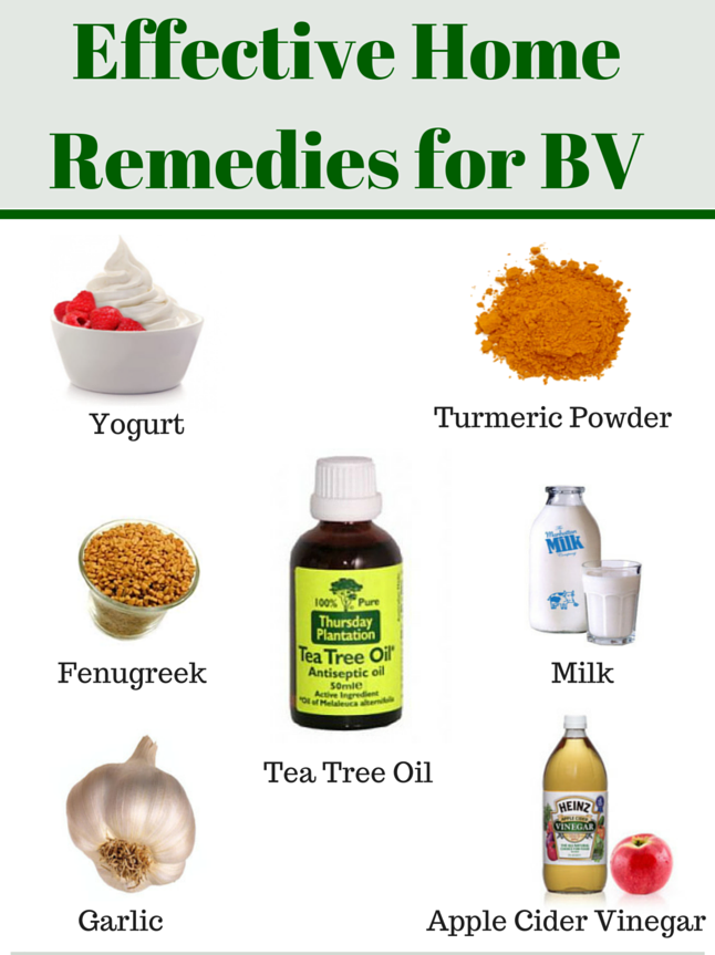 All Natural Remedy For Bv