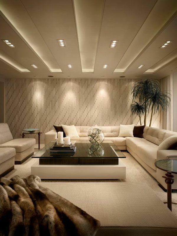 Beleuchtungsideen Wohnzimmer Interessante Vorschläge Für Die Beleuchtung