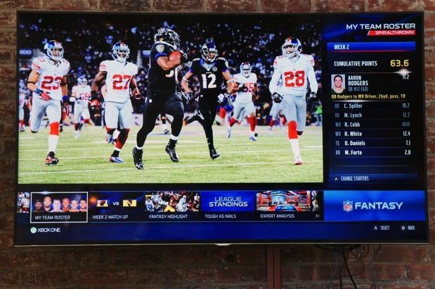 Microsoft shows off ESPN and NFL apps for Xbox One, Yahoo