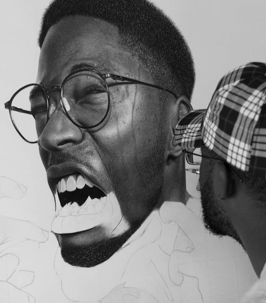 Permanent link to hyperrealistic pencil drawings by nigerian artist