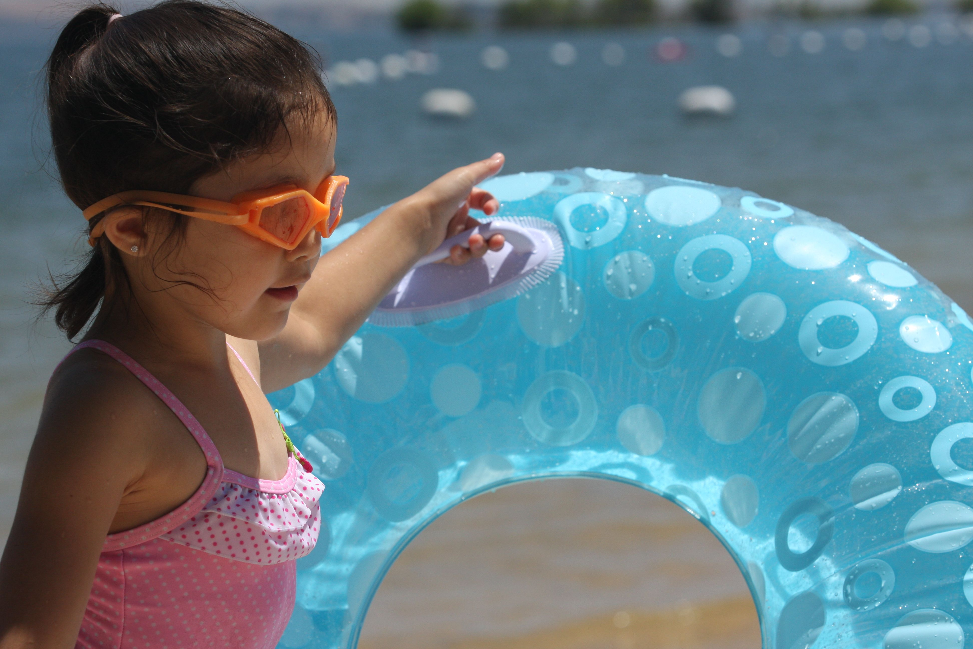 Maya at Folsom Lake 6-16-09