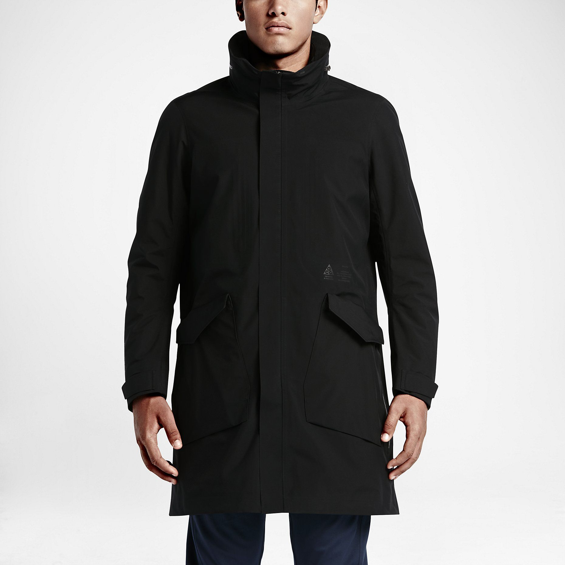 729cf11fb NikeLab ACG System Men's Long Bomber Jacket. Nike.com | favorite ...