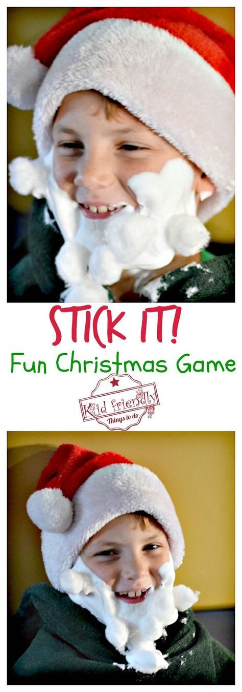 Stick It! A Fun, Cheap and Easy Christmas Game to Play With Kids