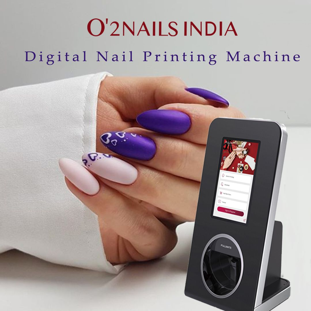 One Of The Top Leading Digital Nail Printing Machine With The