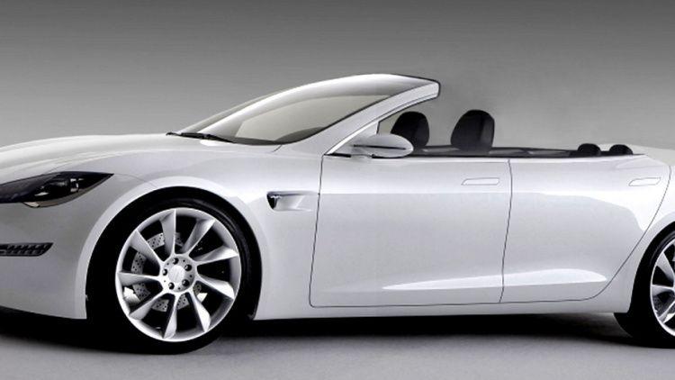 Newport Convertible Enterprises Tesla Model S Convertible Photo