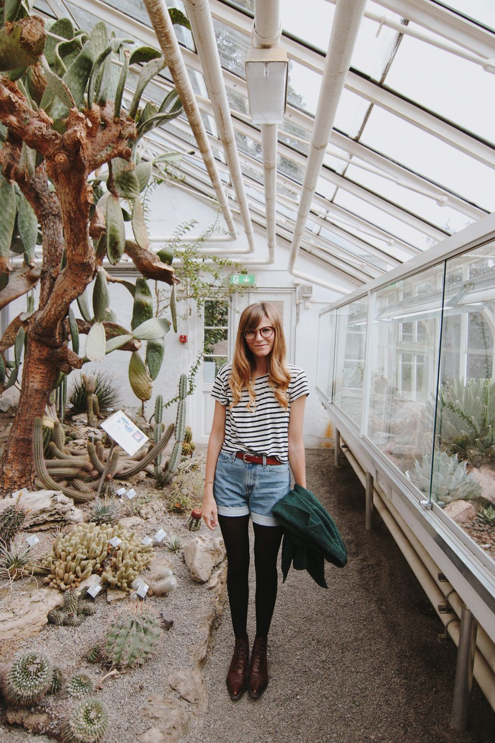 Oslo Botanical Gardens A Day Walking Around The Cactus Spring Summer Fashion Fashion Outfit Goals