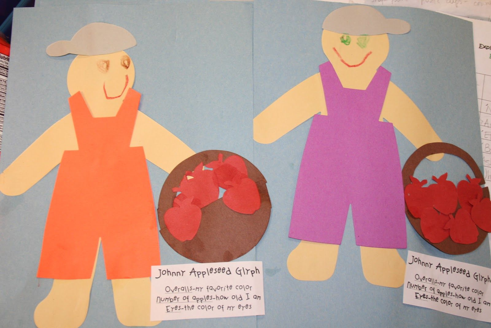Johnny Appleseed Glyph