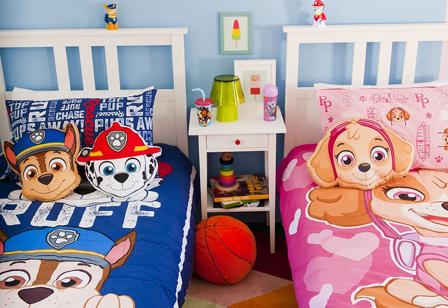 Paw Patrol Bedroom For Boys And Girls Boy And Girl Shared Room