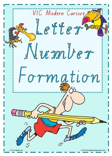 Font Option  Year  Handwriting  Letter  Number Formation