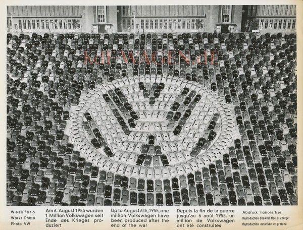 VW - 1955 - (vw_t1) - Eine Millionen Käfer - [8932]-1
