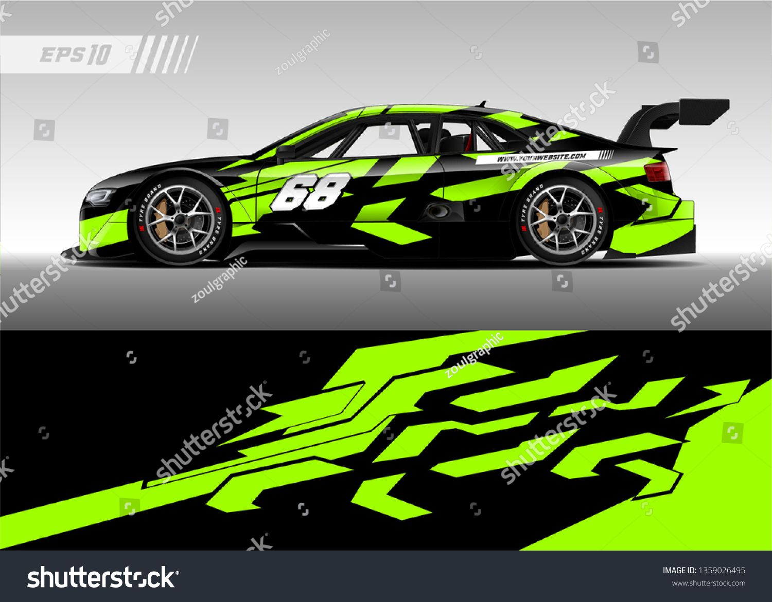 Racing Car Decal Design Vector Graphic Abstract Stripe Racing Background Kit Designs For Wrap Vehicle Race Car Rally Adventure A Car Paint Jobs Car Wrap Race Cars