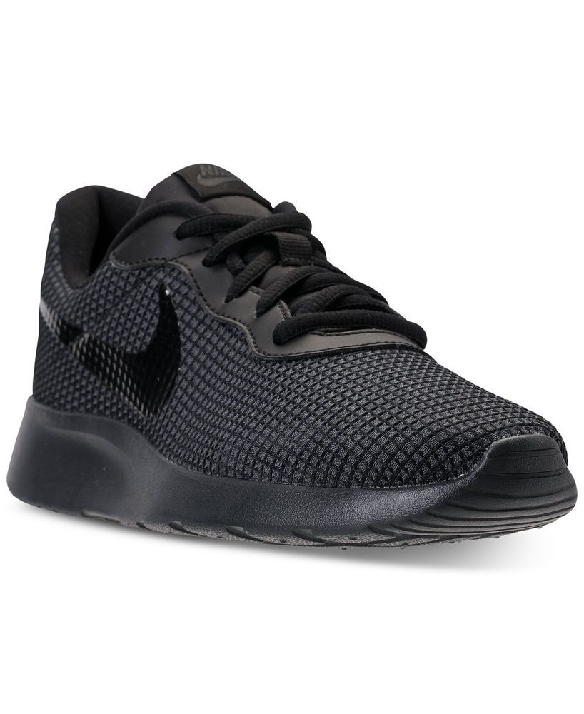 4e0c0ec07bc Nike Women s Tanjun SE Casual Sneaker Athletic Shoes Black Anthracite Size  8 New  Nike  AthleticSneakers