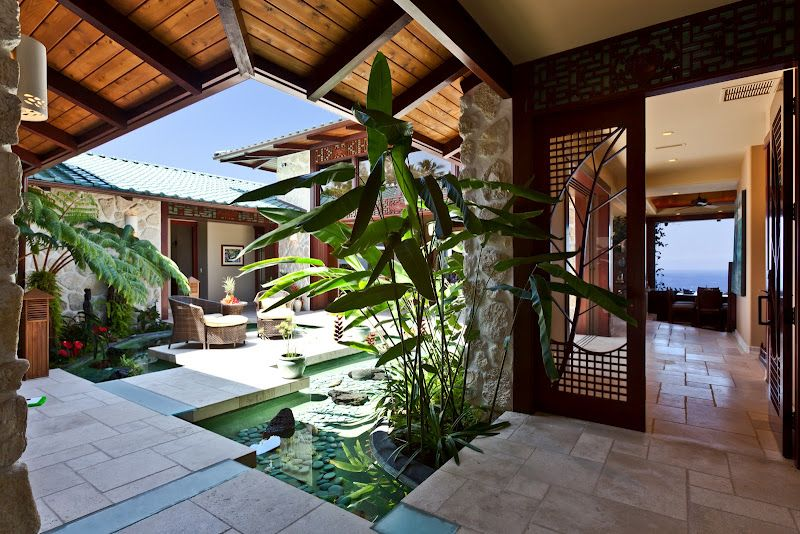 Hawaii Home Yep This Will Do Tropical Patio Hawaii Homes Hawaiian Homes