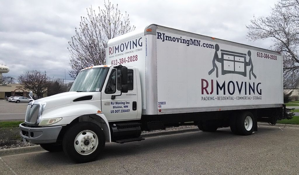 Rj Moving Truck Graphics Signs Now Minnesota With Images
