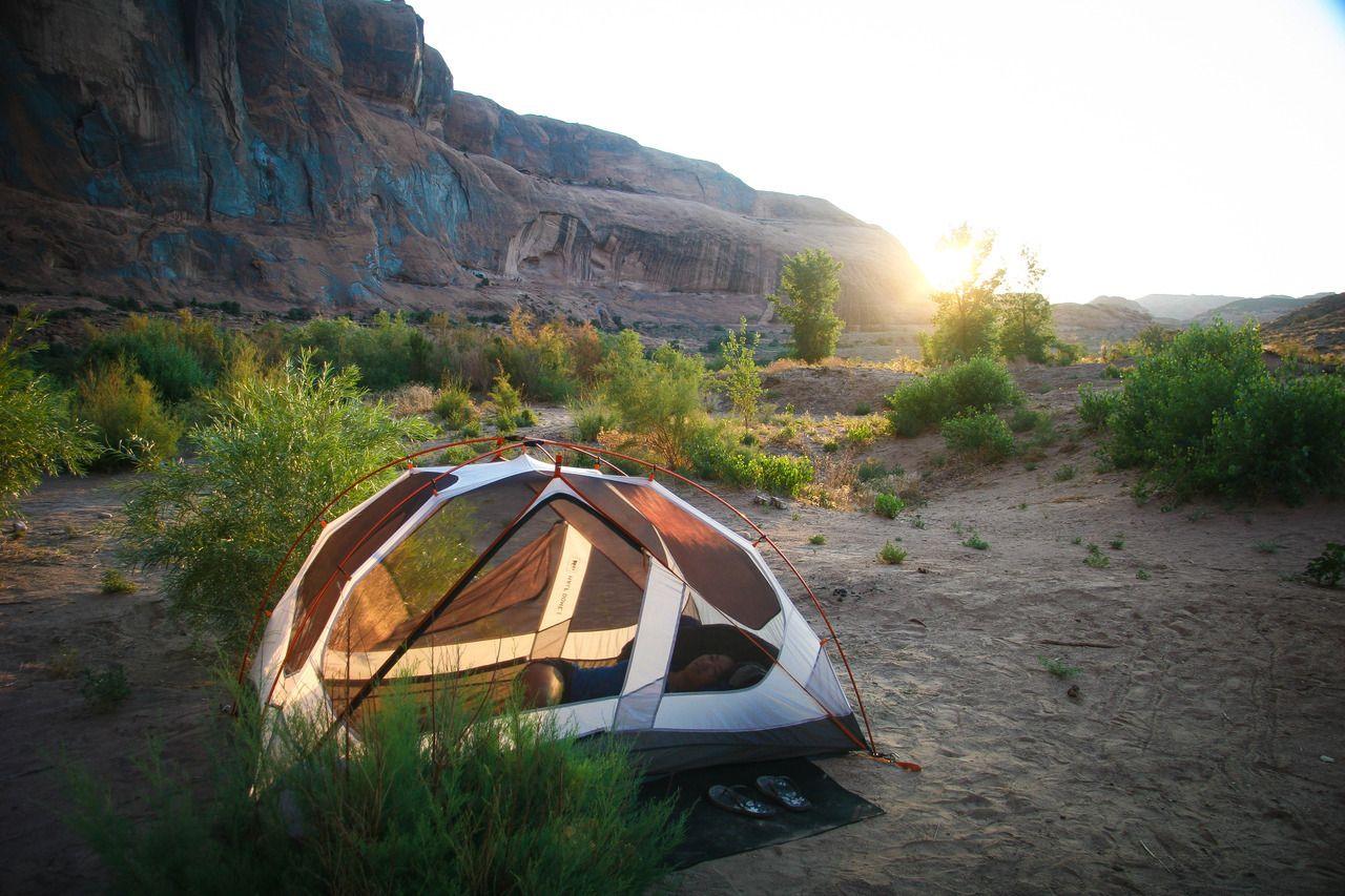 Utah Camping - #adventure #camp #camping #camplife #campout #campsite #desert #discover #explore #in #nature #outdoors #tent #utah #wilderness