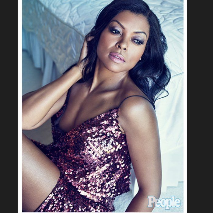 """Taraji P Henson: """"I didn't grow up seeing women that looked like me on TV. """" #YourLifeMattersBrownBlackGirl Thank you @PeopleMag #PeopleMagazine"""
